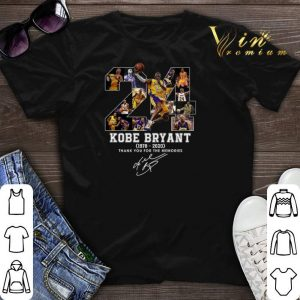 24 RIP Kobe Bryant 1978 2020 thank you for the memories signed shirt sweater