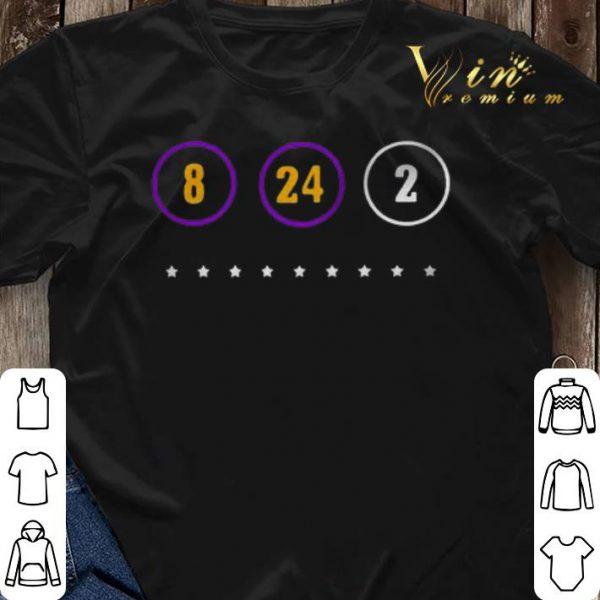 8 24 2 Kobe Bryant Warriors to Honor shirt sweater