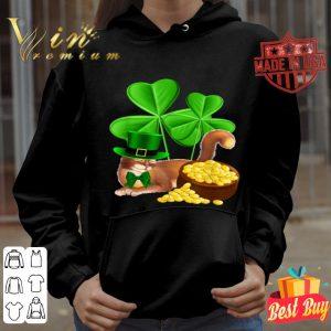 Abyssinian Cat St Patrick's Day Leprechaun Cat Lover shirt