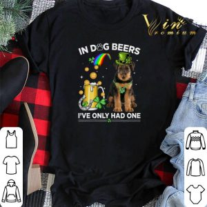 Airedale Terrier in dog beers i've only had one St Patrick day shirt sweater 1