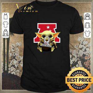 Awesome Baby Yoda Hug AFC NFL 2020 Pro Bowl Star Wars shirt sweater