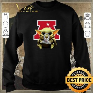Awesome Baby Yoda Hug AFC NFL 2020 Pro Bowl Star Wars shirt sweater 2