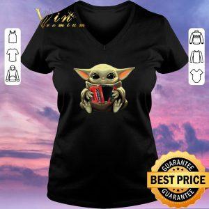 Awesome Baby Yoda Hug Accordion Star Wars shirt sweater