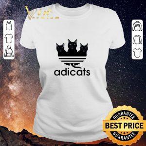 Awesome Black Cats Adidas Adicats shirt sweater