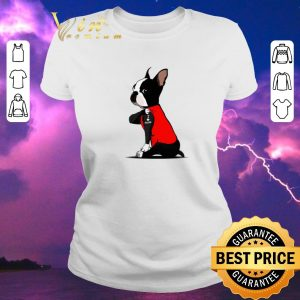 Awesome Boston Terrier I love mom Tattoos shirt sweater