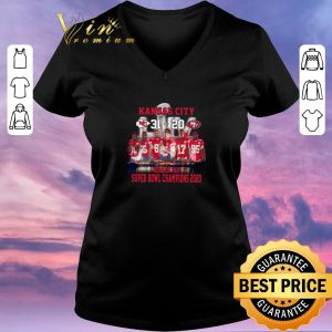 Awesome Kansas City 31 20 49ers home of the Super Bowl champions 2020 shirt sweater