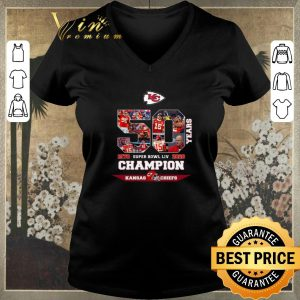Awesome Kansas City Chiefs 50 Years Super Bowl LIV Champions 1970 2020 shirt sweater