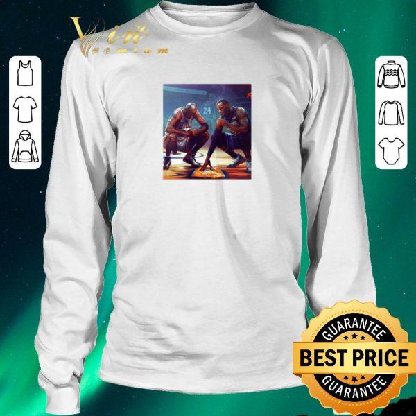 Awesome Michael Jordan Lebron James RIP Kobe Bryant shirt sweater
