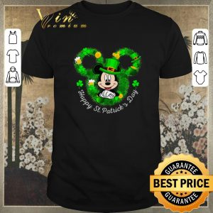 Awesome Mickey mouse Happy St. Patrick's Day shirt sweater