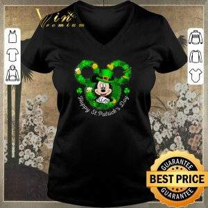 Awesome Mickey mouse Happy St. Patrick's Day shirt sweater 1