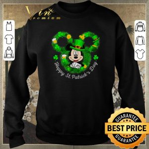 Awesome Mickey mouse Happy St. Patrick's Day shirt sweater 2