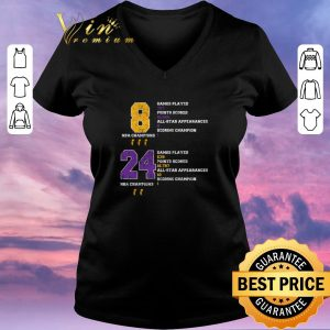 Awesome NBA Champion 8 24 Game Played Points Scored All Star Appearances shirt sweater