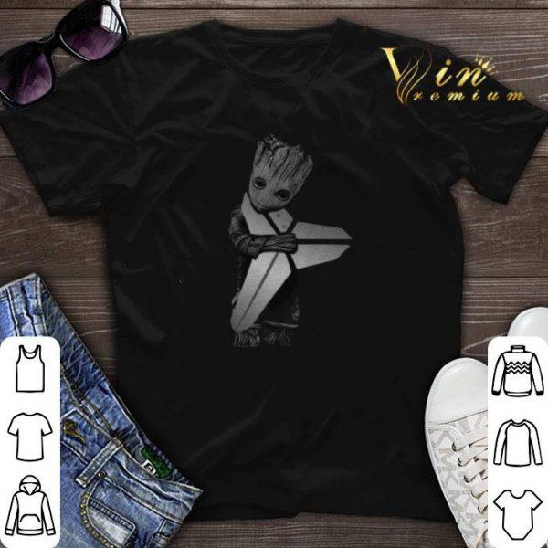 Baby Groot Hug Kobe Bryant Logo Symbol Star Wars shirt sweater