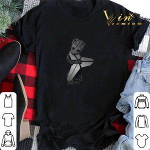 Baby Groot Hug Kobe Bryant Logo Symbol Star Wars shirt sweater 1