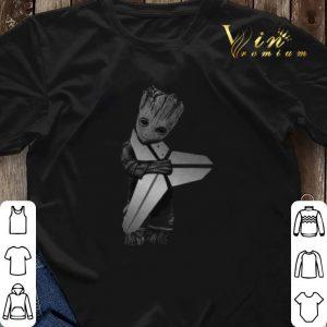 Baby Groot Hug Kobe Bryant Logo Symbol Star Wars shirt sweater 2