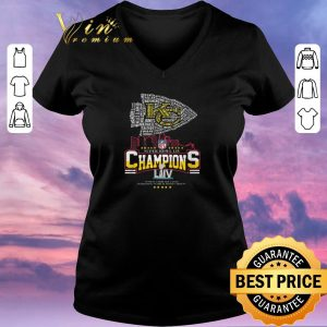 Funny All name players Kansas City Chiefs Super Bowl LIV Champions shirt sweater