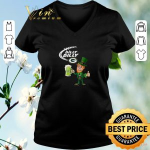 Funny Leprechaun Dilly Dilly beer Green Bay Packers St Patrick day shirt sweater