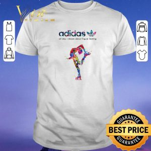 Funny adidas all day I dream about Figure Skating shirt sweater