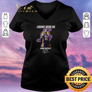 Hot Legends never die Kobe Bryant 1978-2020 signature shirt sweater