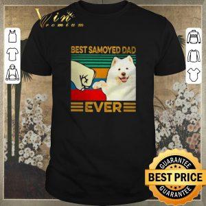 Nice Best Samoyed dad ever vintage shirt sweater