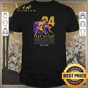 Nice RIP King Kobe Bryant Legend Signature 8 24 Legends Never Die shirt sweater