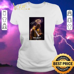 Nice Signed RIP Kobe Bryant 1978 2020 thank you for the memories shirt sweater 1