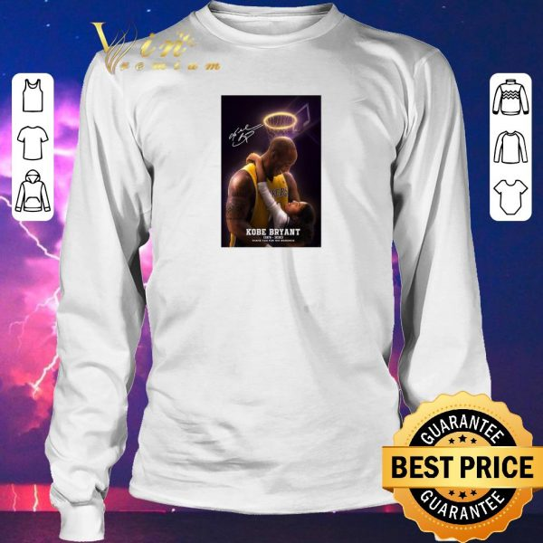 Nice Signed RIP Kobe Bryant 1978 2020 thank you for the memories shirt sweater