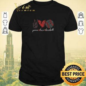 Official Diamond Peace love baseball shirt sweater