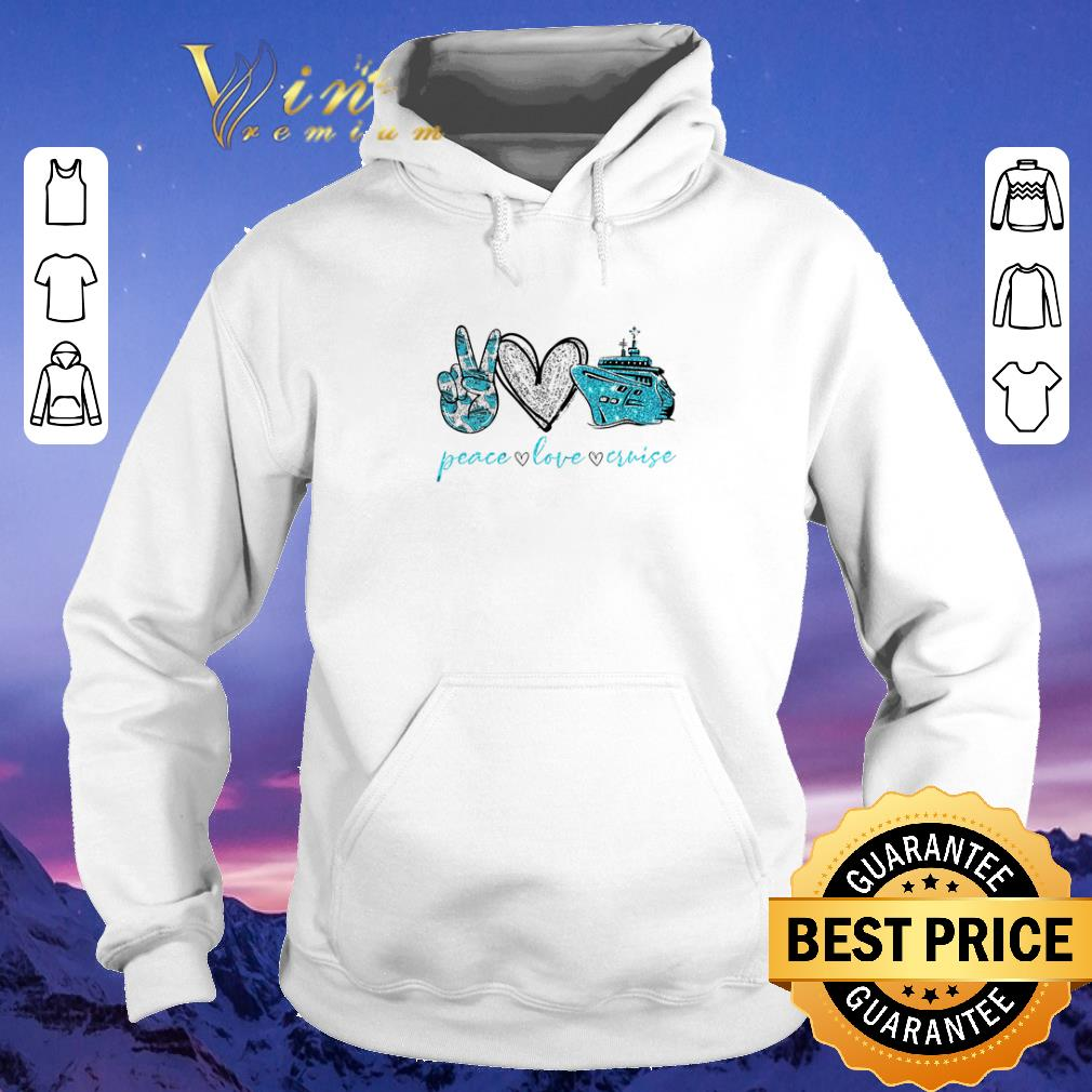 Official Diamond Peace love cruise shirt sweater 4 - Official Diamond Peace love cruise shirt sweater