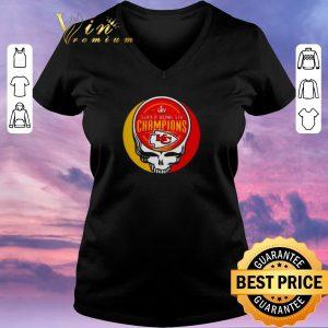 Official Grateful Dead Mashup Super Bowl LIV Champions Kansas City Chiefs shirt sweater