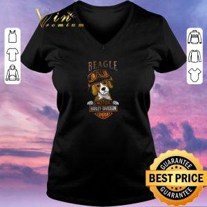 Original Beagle Mashup Motor Harley Davidson Company shirt sweater