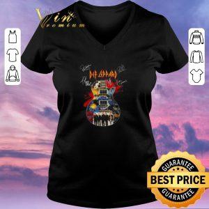 Original Def Leppard Band Guitarist Signatures shirt sweater