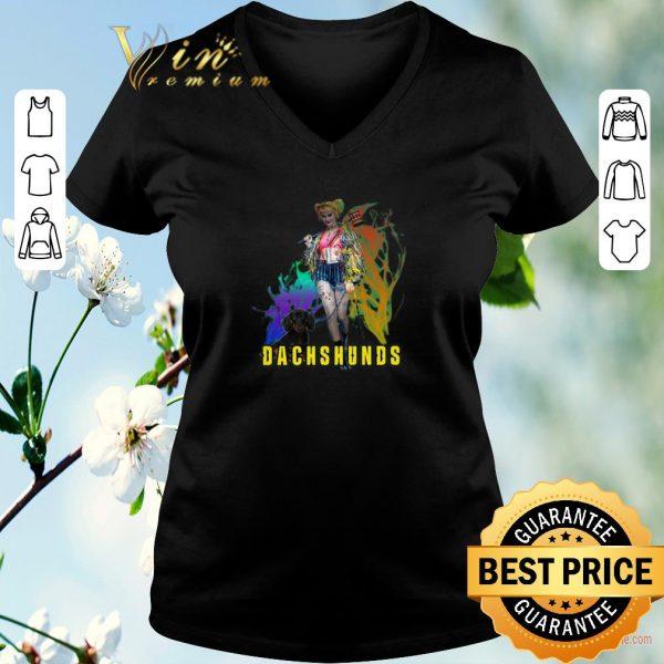 Original Harley Quinn Dachshunds Birds of Prey shirt sweater