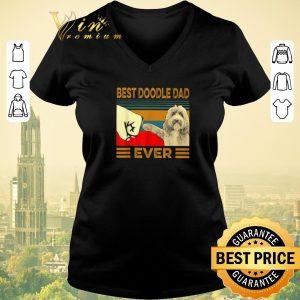 Premium Best Doodle Dad Ever Vintage shirt sweater
