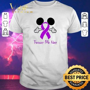 Premium Mickey Mouse Forget me not Breast Cancer Awareness shirt sweater
