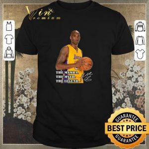 Premium RIP Kobe Bryant The Mamba The Myth The Legend Signature shirt sweater