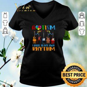 Pretty Autism Awareness i rock my own rhythm shirt sweater