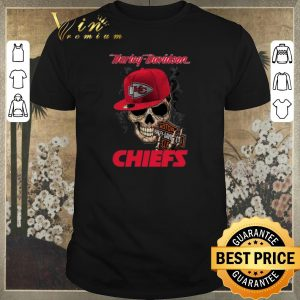 Pretty Skull Motor Harley Davidson Cycles mashup Kansas City Chiefs shirt sweater