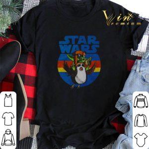 Star Wars Baby Yoda and Sad Porg vintage shirt sweater