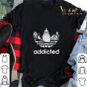 Totoro addicted adidas Studio Ghibli shirt sweater 1