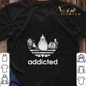 Totoro addicted adidas Studio Ghibli shirt sweater 2