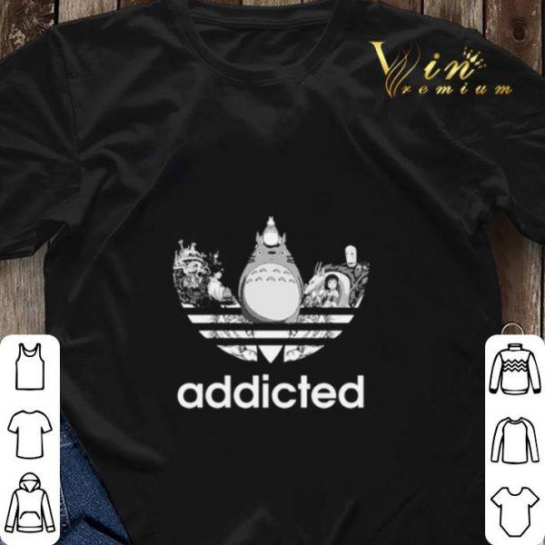 Totoro addicted adidas Studio Ghibli shirt sweater