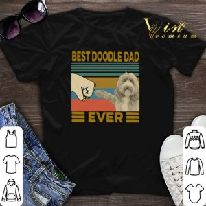 Vintage Best Doodle Dad Ever shirt sweater