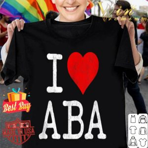 ABA Therapist Behavior Therapy Autism Teacher shirt