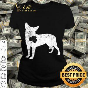 Australian Cattle Dog Irish Clover St Patrick Day Dog Gift T-shirt