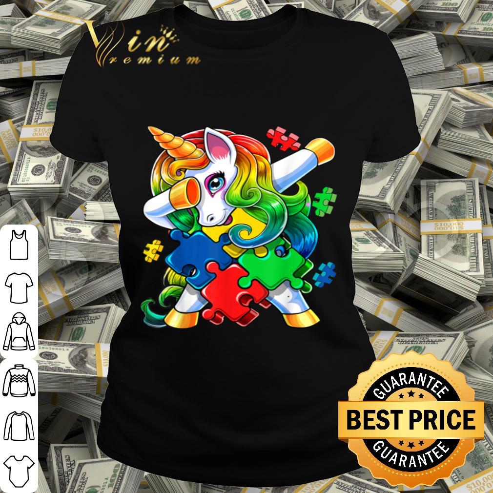 Kids Unicorn Autism Shirt for Toddler Autism Awareness Shirt Puzzle Autism Gifts