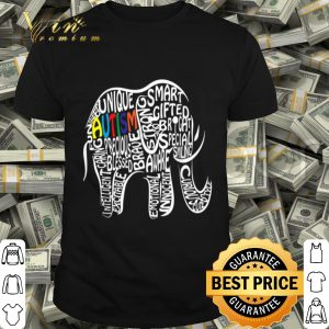 Autism Awareness Elephant shirt