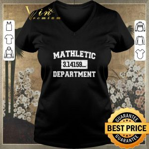 Awesome Mathletic 3.14159... Department shirt sweater 1