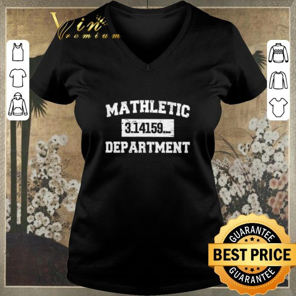 Awesome Mathletic 3.14159... Department shirt sweater