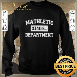 Awesome Mathletic 3.14159... Department shirt sweater 2